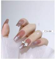 Rose Tassel Color Preserving Phototherapy Nail Decoration