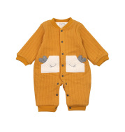 Toddler Outing Clothes Autumn And Winter Warm Baby Romper