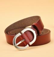 All-Match Belt pure Cowhide Korean Style Simple Pin Buckle Belt