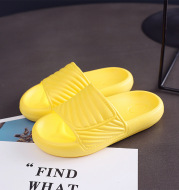 Children's Thick-soled Rubber-plastic Household Slippers