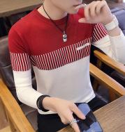 Men's Slim-Fit Color-Block Sweater