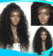Fashion Partial Long Curly Hair Chemical Fiber Wig