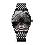 Personality Cool Sports Trend Solid Steel Belt Waterproof Men's Mechanical Watch