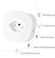 Mini Smart Socket Plug Remote Control Socket Adapter Power Supply