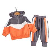 Children's Hooded Sweater Set Korean Children's Wear