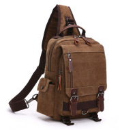 Casual Fashion Wash Canvas Bag Outdoor Travel Backpack