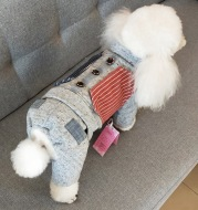Autumn And Winter Small Dog Four-Legged Clothes Teddy Thick Winter Clothes