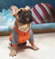 Fat Dog Pug Small And Medium Dog Pet Plus Velvet Sweater