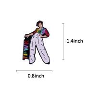 Singer Harry Styles Brooch Musical Badge Collar