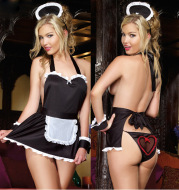 Sexy Lingerie Free Take Off Maid Passion Uniform Suit