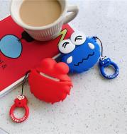 Creative Cute Cartoon Sesame Street Silicone Protective Cover