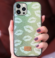 The Phone Case Is Inlaid With Diamond Personality XR Protective Cover