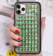 New Diamond-inlaid Mobile Phone Case Edge Drill Mobile Phone Protective Case