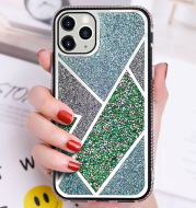 Contrast Color Mobile Phone Case Plating Mirror