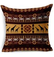 Printed Pillowcase Flax Southeast Asian Pillowcase