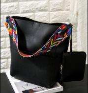 Single Shoulder Large Capacity Ribbon Handbag Women Bag