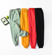 Large Size High Waist Loose Sports and Leisure Plus Fat Lamb Wool Trousers