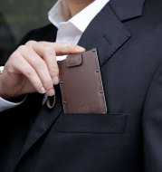 Portable Pull-out Design, Ultra-thin Card Holder, Multi-function Card Holder