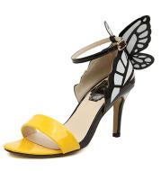 Fashion Winged Stiletto High Heel Sandals