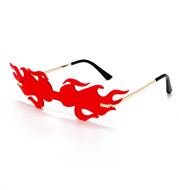 Trendy Wild European and American Personality Sunglasses Glasses