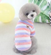 Winter Teddy Bichon Warm Clothing Cat Rainbow Fleece
