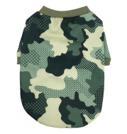 New Dog Clothes Camouflage Series Fleece Sweater