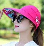 Adjustable Outdoor Ladies Riding Sun Hat With Pearl