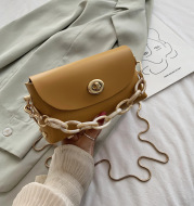 Korean Style All-match Messenger Bag Fashion Mini Chain Bag