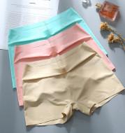 Summer New Ice Silk Seamless Abdomen Safety Leggings