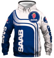 New Couple Hooded Jacket Digital Printing Saab Men And Women Hooded Sweater