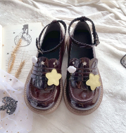 Lolita Japanese Round Head Student Doll Shoes