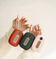 Retro Digital Display Portable Compact Rechargeable Warm Baby
