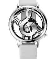Korean Fashion Hollow Note Male And Female Couple Watch