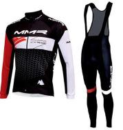 Fleece Long-Sleeved Cycling Suit