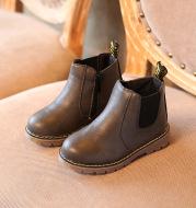 Retro Children's Shoes Autumn and Winter Martin Boots Fashion Children's Cotton Shoes