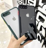 Phone Case IPhone7plus Camera Anti-Drop XR Silicone Transparent Phone Case