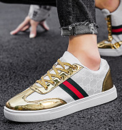 Spring New Korean Style Trendy Men's Trendy Vibrato Casual Shoes Sneakers