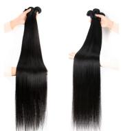 Reality Wig, Smooth Hair, Straight Hair Tie, Closed Peruvian Hair Tie