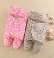Baby Flannel Thickened Leg Anti-kick Sleeping Bag