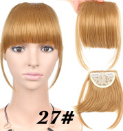 Chemical Fiber Wig Female Seamless Air Bangs
