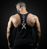 Loose Big Backless Breathable Wicking And Quick-Drying Fitness Vest Men