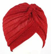 New Gold Bright Silk Indian Hat Turban Hat