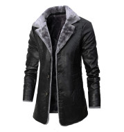 Plush Large Lapel Suit Fur Plush Jacket Men