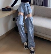 Straight Loose High Waist Slim Thin Pants Trend