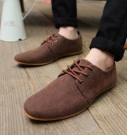 Men's Casual British Style Retro Low-top Leather Shoes