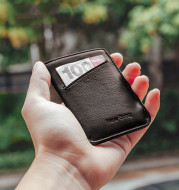 Leather Card Holder Men's Ultra-thin Card Holder Driving License Leather Case