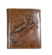 New Men's Scorpion Wallet Retro Short Business Wallet
