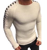 Men's Slim Long Sleeve Round Neck Knit Top