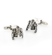 Matador Leather Jacket Clothes Cufflinks Knight Style