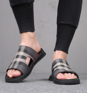 Men's Cloth Slippers Summer Outdoor Sandals Fashion Flip Flops